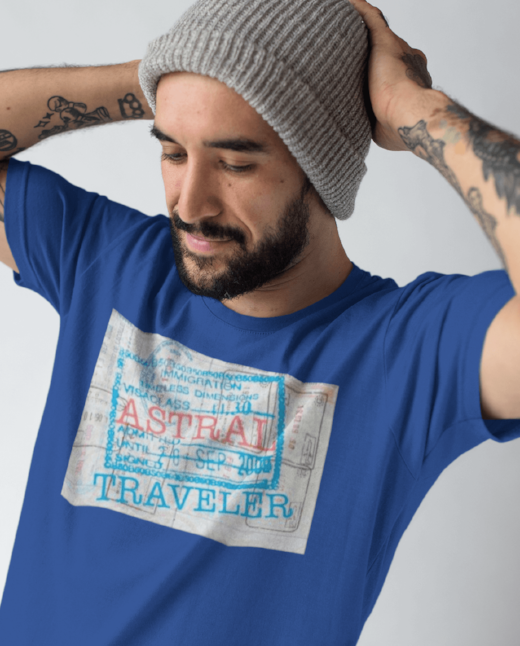 Astral Traveler - Men Printed T-shirts For Sale | Theawakenwave