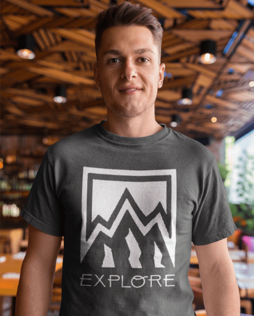 explore nature men's hipster fashion clothing
