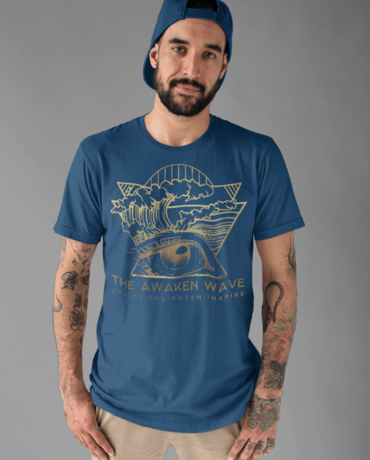 The Awaken Wave Men's Save Our Planet Clothing