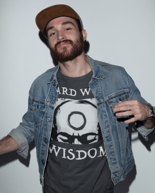Hard Won Wisdom Men's Hip Festival T Shirt