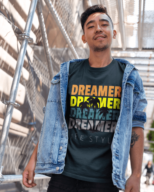 Dreamer Men's Hipster Fashion T Shirts