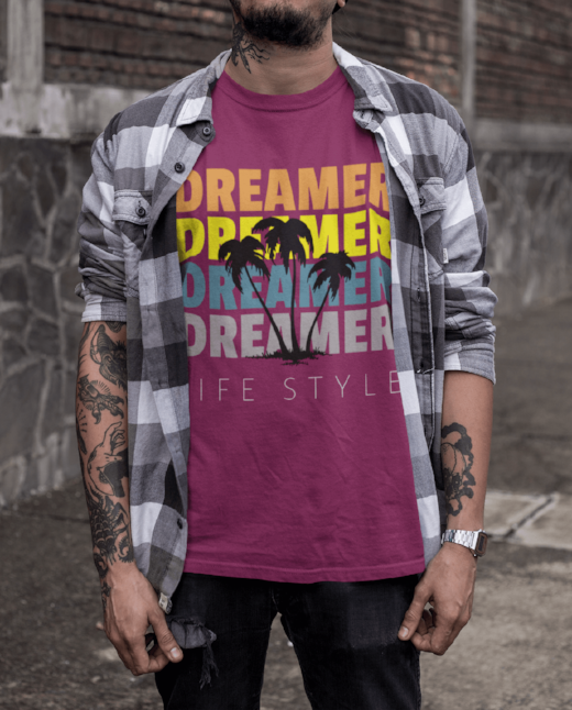 Dreamer Men's Festival Fashion T Shirt