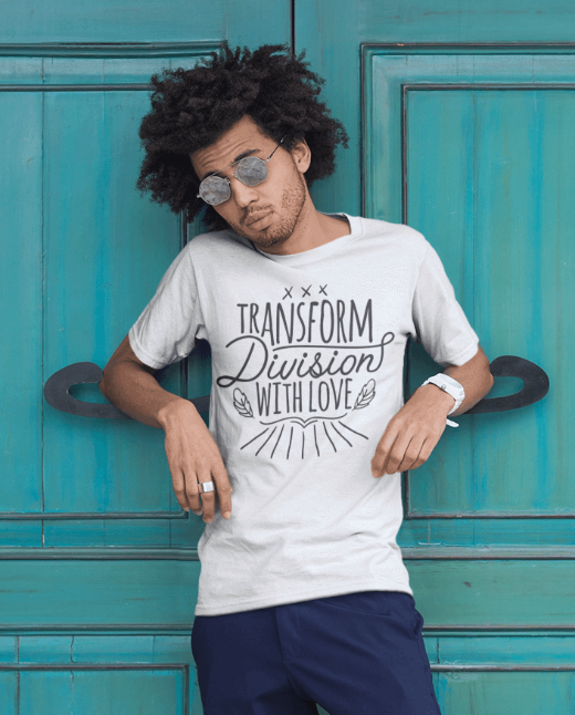 Transform Division with Love Men's T Shirt
