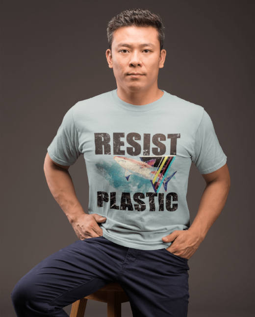 Resist Plastic T Shirt