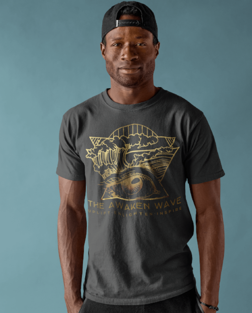 The Awaken Wave Men's Clean Planet T Shirts