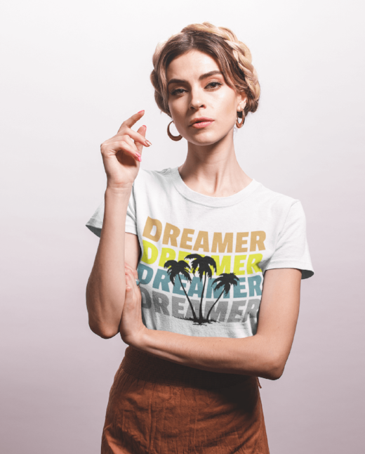 Dreamer Womens Fashion Clothing casual look