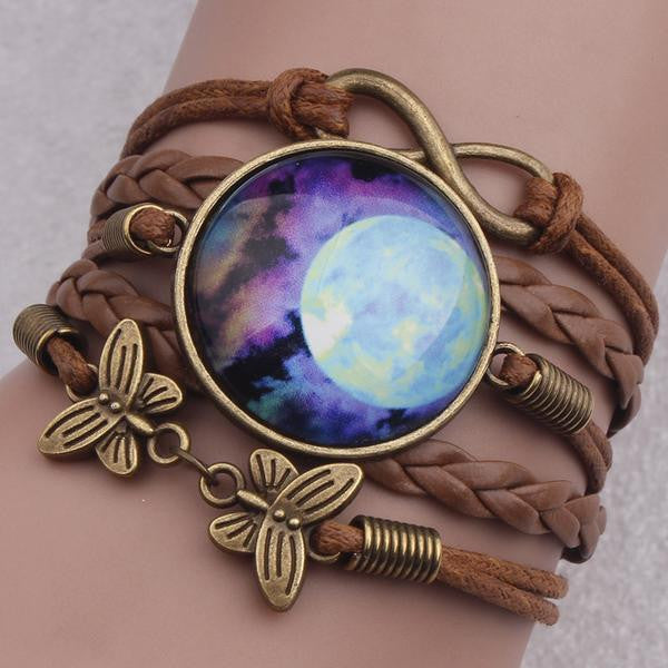 Beautiful Moon Cosmic Boho Bracelet