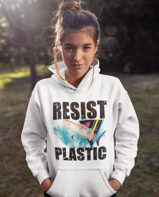 Resist Plastic Hoodie - Hooded Sweatshirts For Sale | Theawakenwave