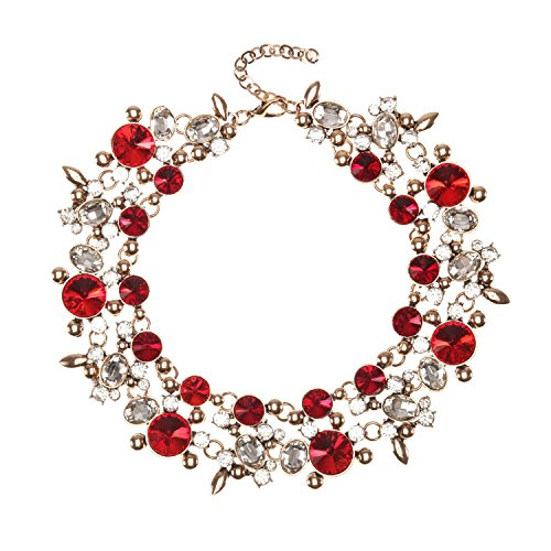 5232a6305 Holylove 5 Colors Costume Statement Necklace for Women Fashion Necklace  with Gift
