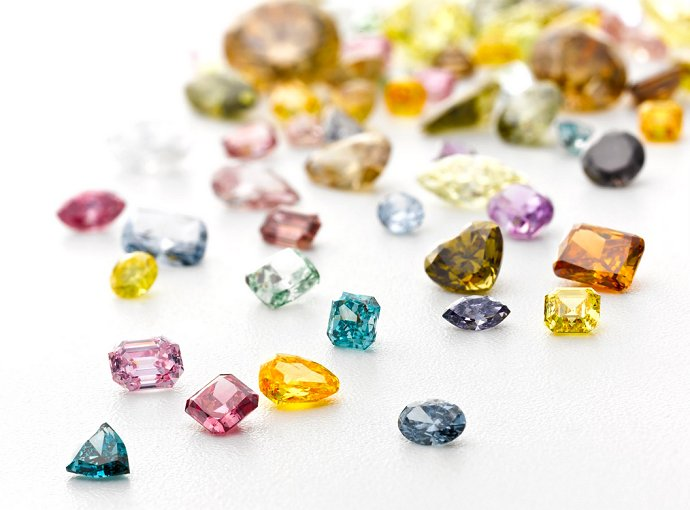 Fancy Colored Diamonds The Clear Cut
