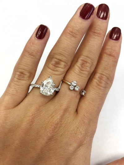 Enement Rings Cuts | Top Engagement Ring Trends 2018 The Clear Cut