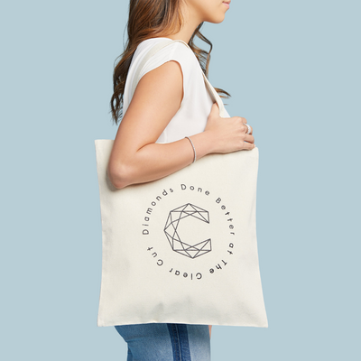 Clear Cut Tote Bag