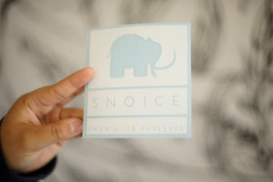 Snoice Decal
