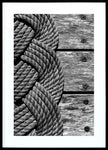 Coastal Rope B&W