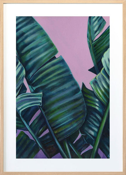 Banana Leaf Bliss Pink