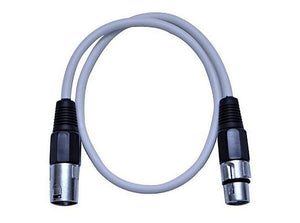 Extended Black Ceiling Mic Cable - 6ft