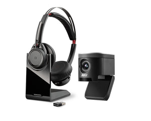 Work from Home: Camera and Headset - High Quality Bundle