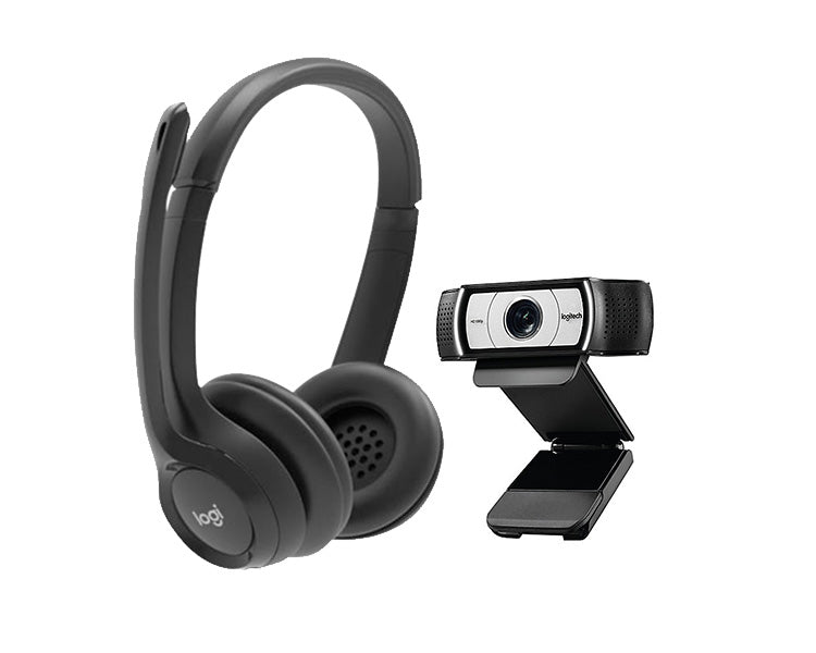 Work from Home: Camera and Headset - Value Bundle
