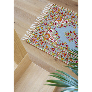 Luella Runner 2.65' x 10' (80 x 300 cm) With Tassels
