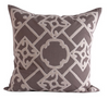 Kaze Pillow - French Grey & Mushroom