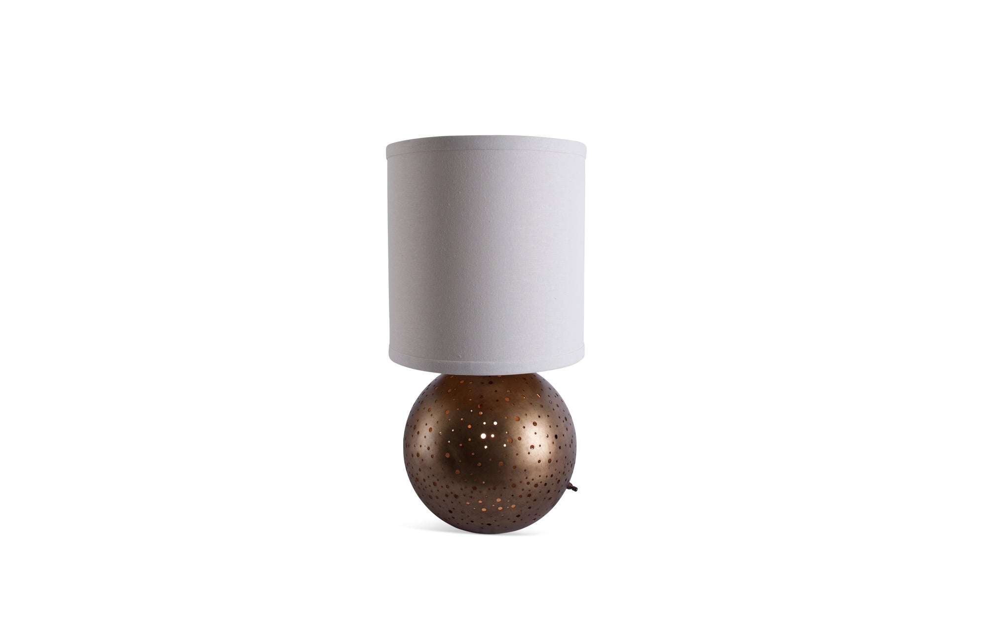 Vega Round Table Lamp (Brass)