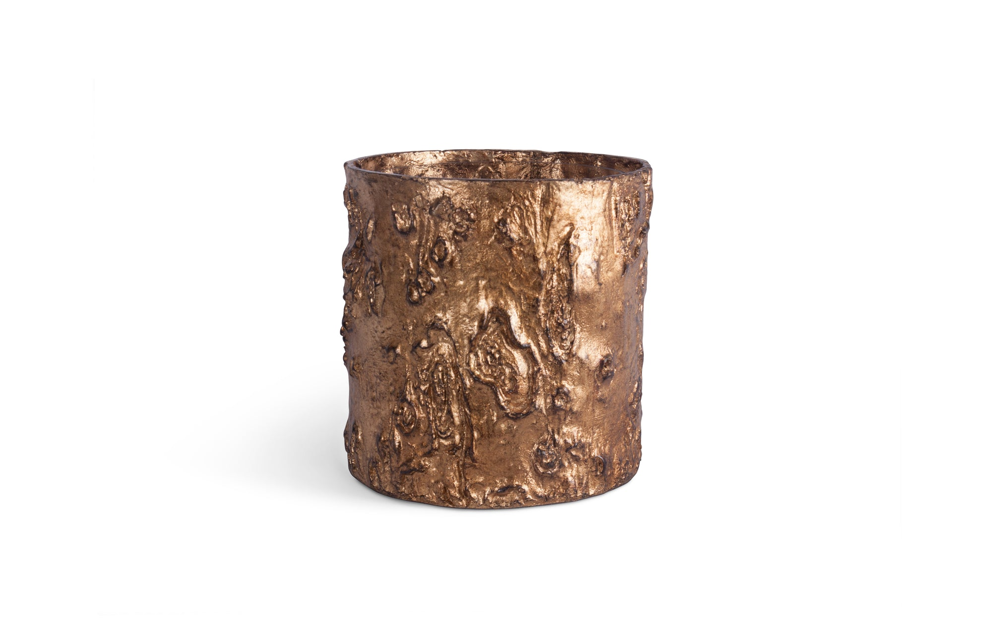 Zitan Cache Pot (Antique Gold)