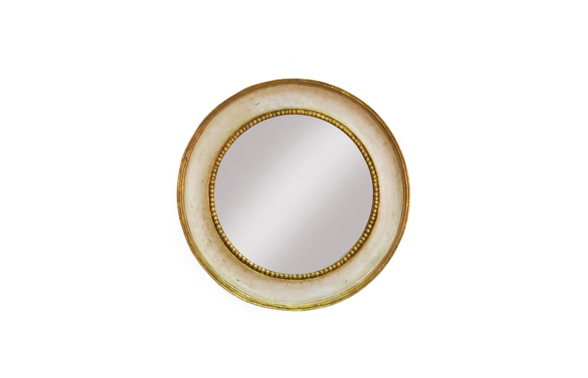 Hacienda Cameo Mirror (White)