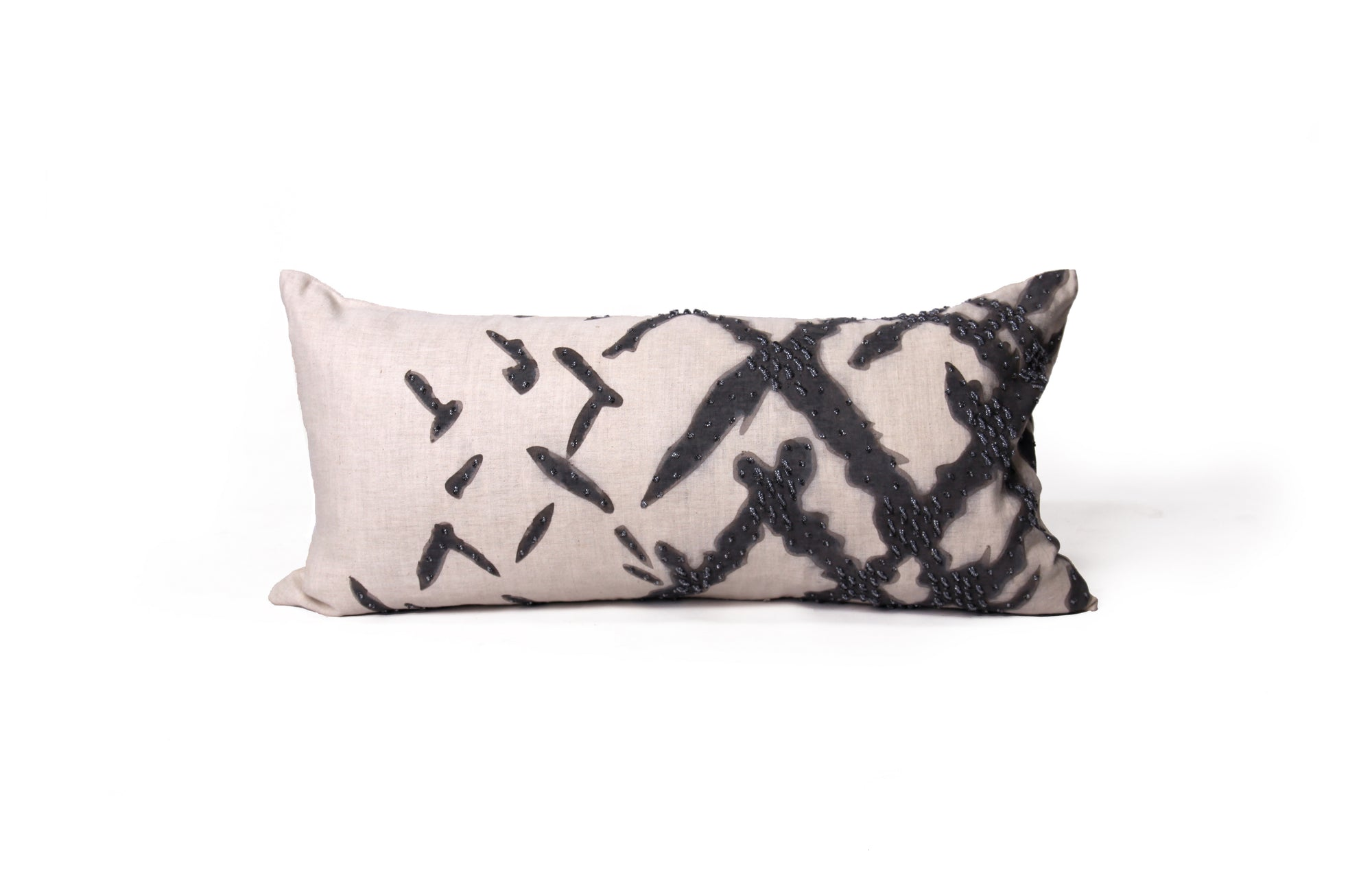 Whitney Argyle Pillow - Midnight Ink