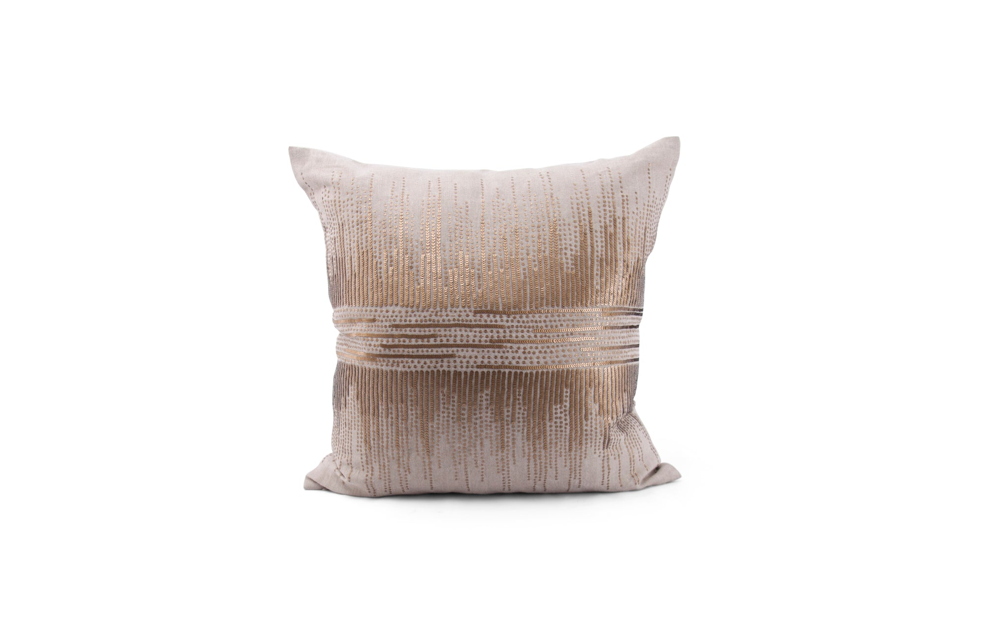 Vionnet Pillow - Gold & Natural