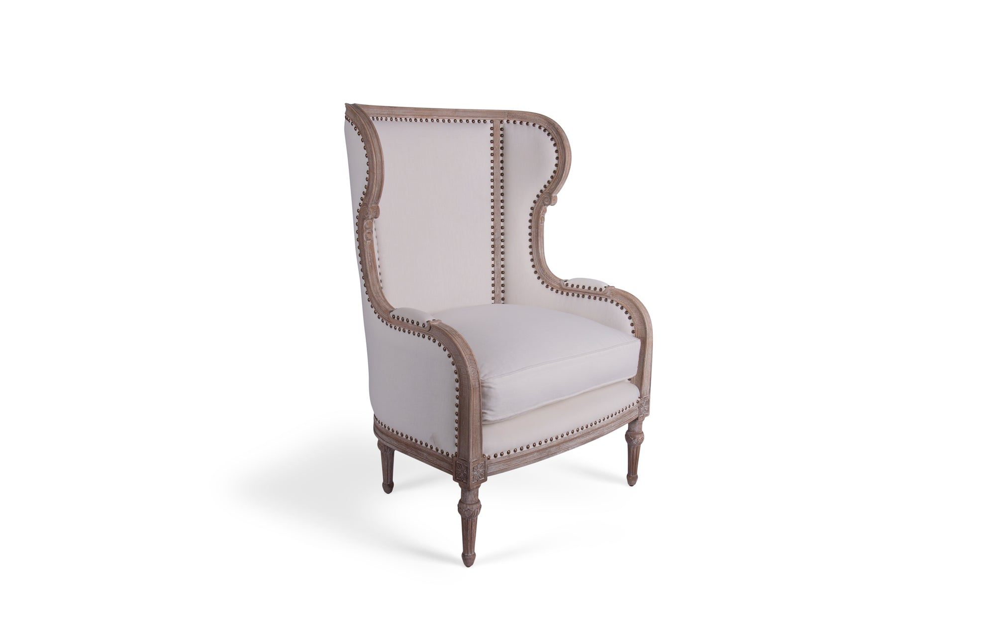 Borges Wing Chair (Fog)