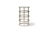 Gyre Accent Table (Champagne)