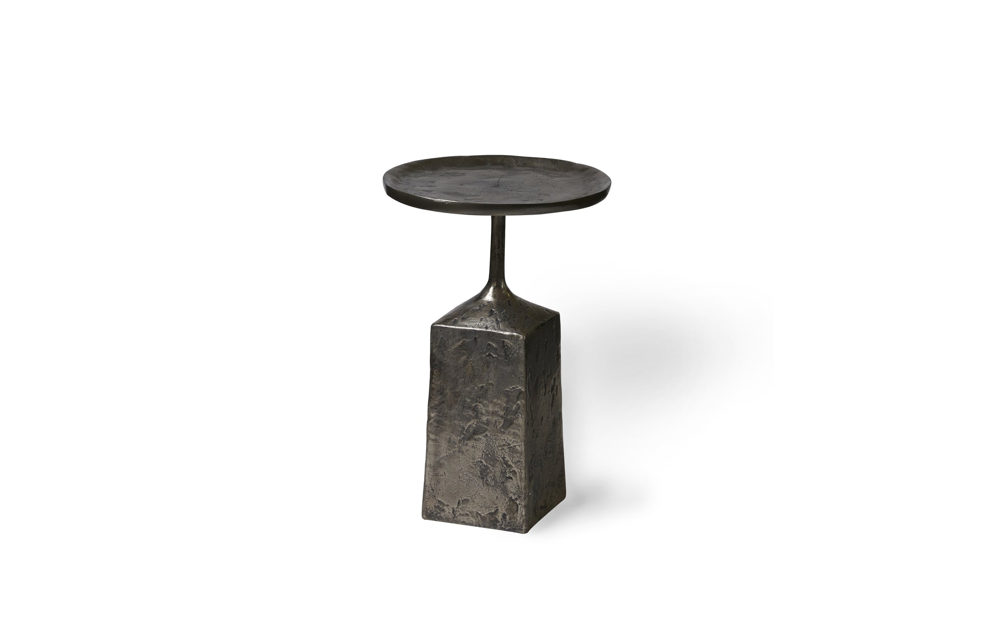 Lunae Accent Table (Nickel)