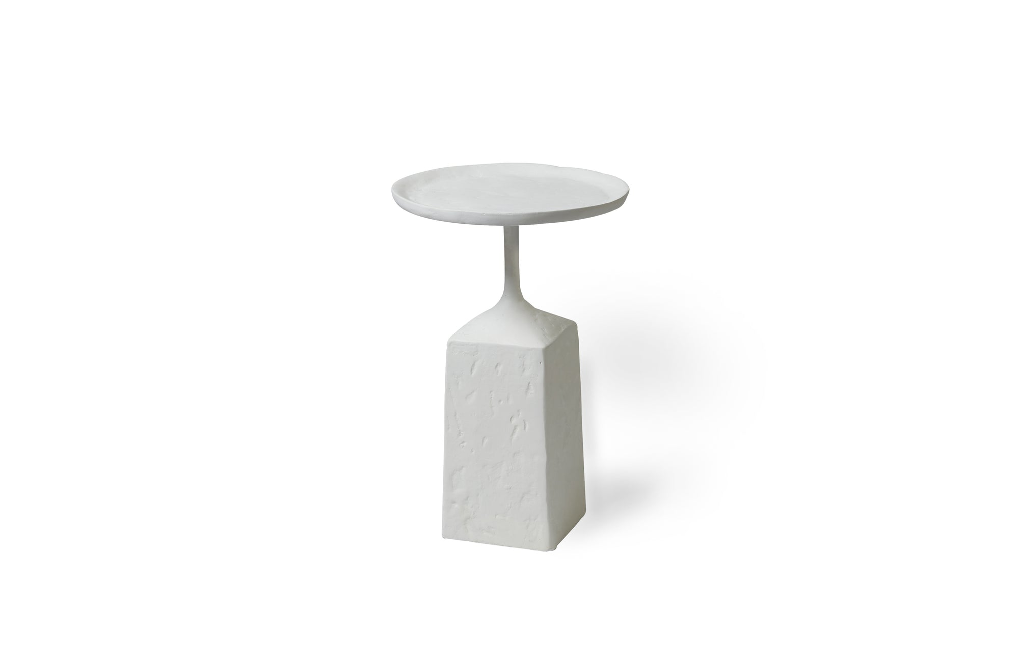 Lunae Accent Table (White)