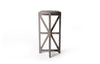 Saltire Drinks Table (White)
