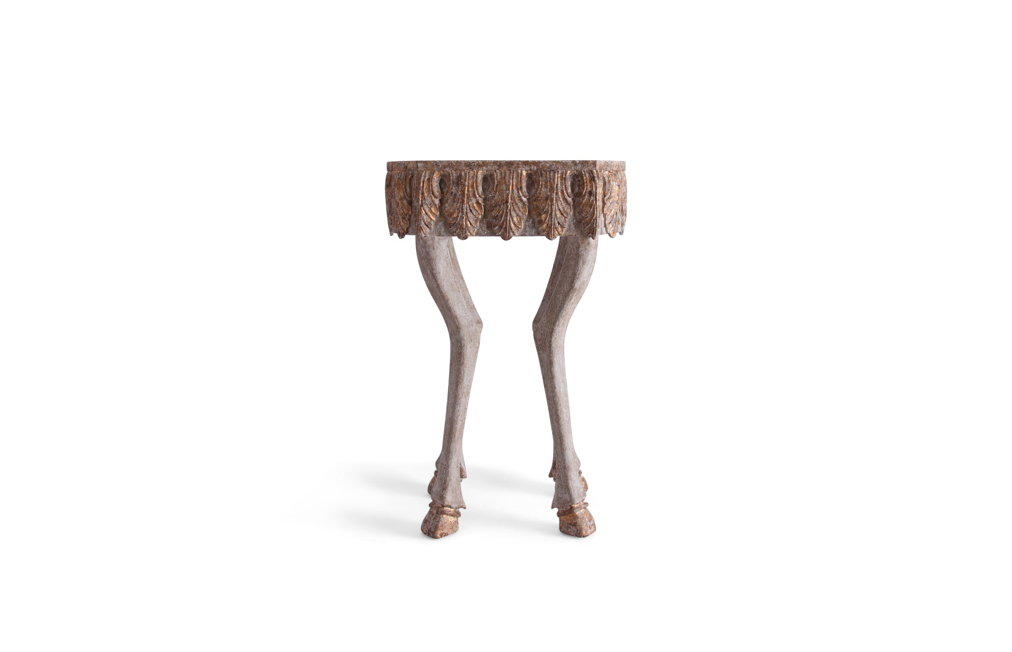 Stag Leg Accent Table - 30""