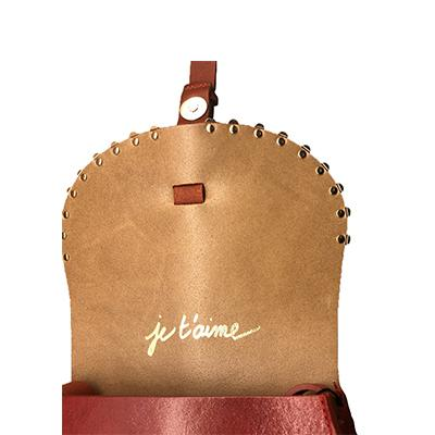"Sac ""Le Sab Medium Pomme D'Amour"" Rouge Et Orange - blushconceptstore"