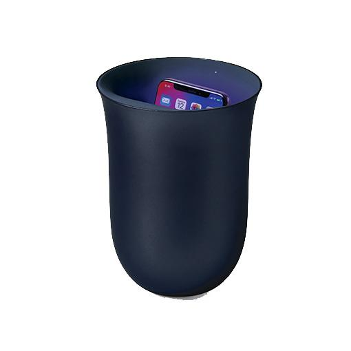 "Vase Chargeur A Induction + ""Oblio"" Bleu"