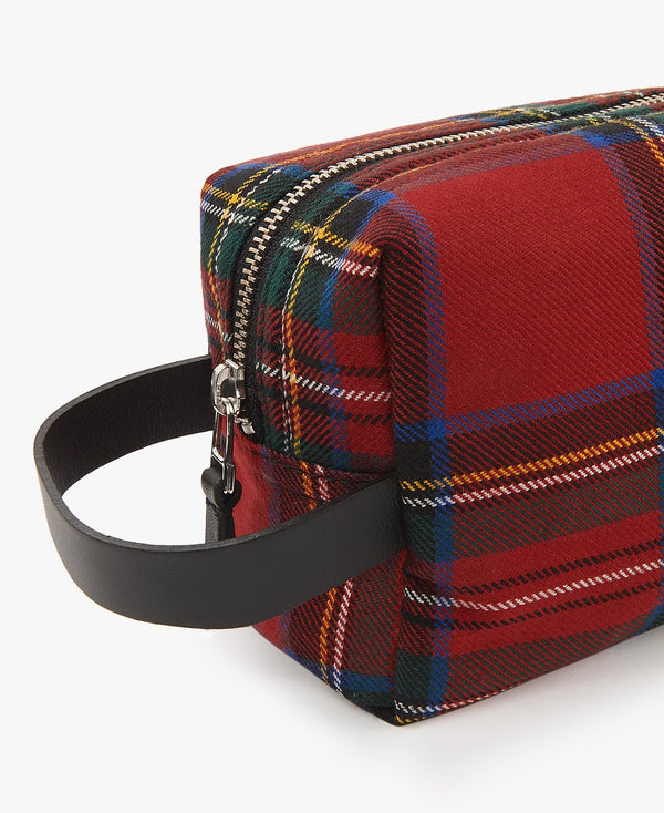 "Trousse de Toilette ""Red Tartan"""