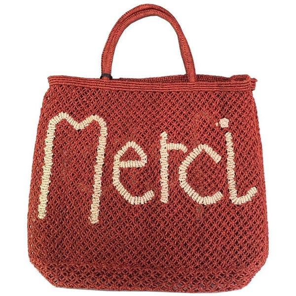 "Sac Filet ""MERCI"" Petit Modèle - The Jacksons - blushconceptstore"
