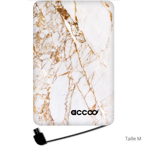 "Batterie Externe ""Luxury Marble"" - blushconceptstore"