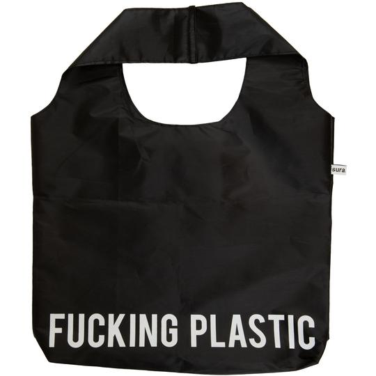 "Sac Shopping Réutilisable ""Fucking Plastic"" - blushconceptstore"