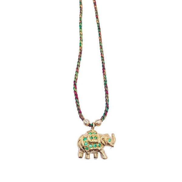 "Collier ""Elephant"" - blushconceptstore"