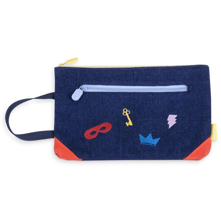 "Trousse En Denim ""Secret"""