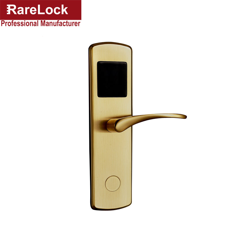 LHX Digital Electric Hotel Lock Best RFID hotel Electronic Door Lock For  Flat Apartment a