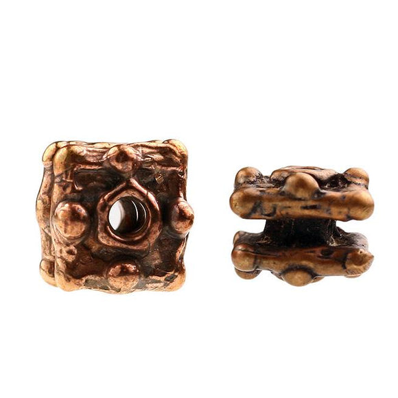 (bzbd034-9665) Bronze Bead - Scottsdale Bead Supply