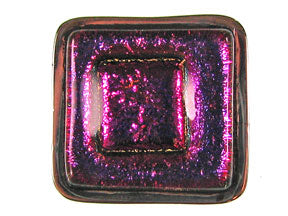 Magenta Dichroic Inlay 5-Strand Clasp