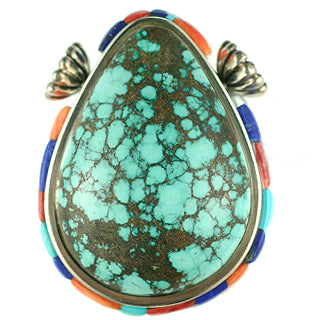 Turquoise inlay Clasp