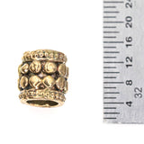(bzbd078-N0302a) Barrel Bead