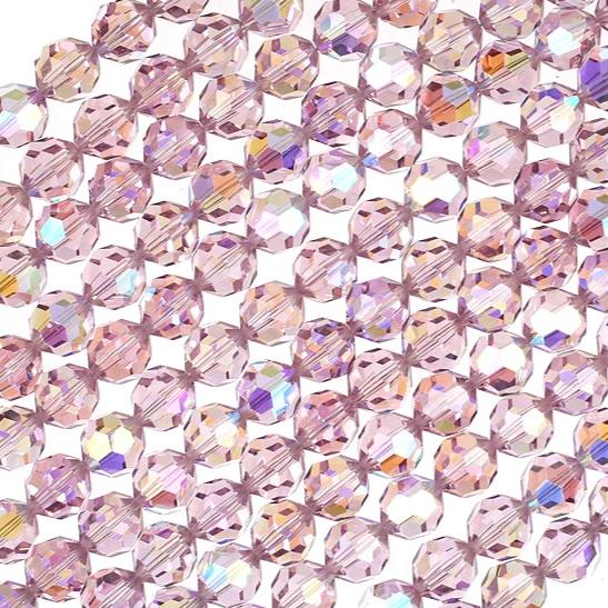 10mm Light Amethyst AB Swarovski Crystal