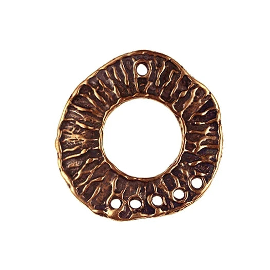 Bronze 5 to 1 - Toggle ring Free Form texture